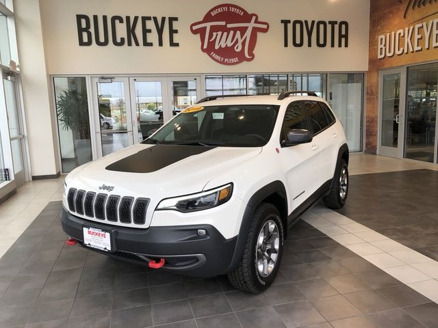 Pre-Owned 2019 Jeep Cherokee Trailhawk 4WD 4D Sport Utility