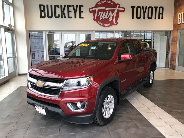 Pre-Owned 2018 Chevrolet Colorado LT 4WD 4D Crew Cab